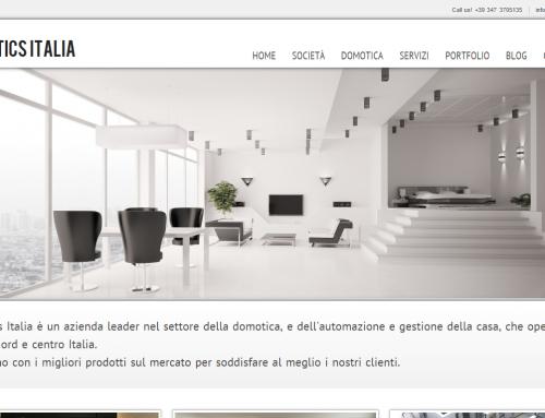 Realizzazione Sito Internet DomoticsItalia