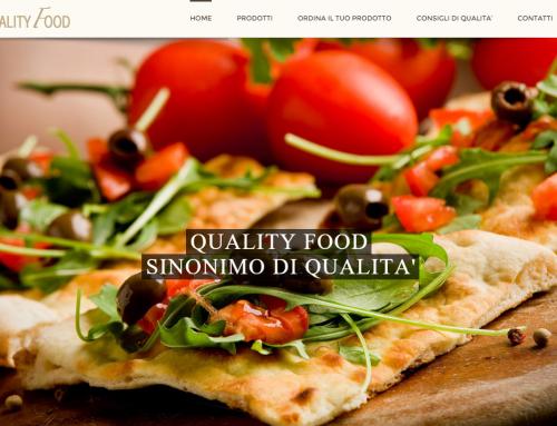 Realizzazione Sito Internet Quality Food