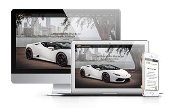 Sito Web Responsive AM Luxury Rent